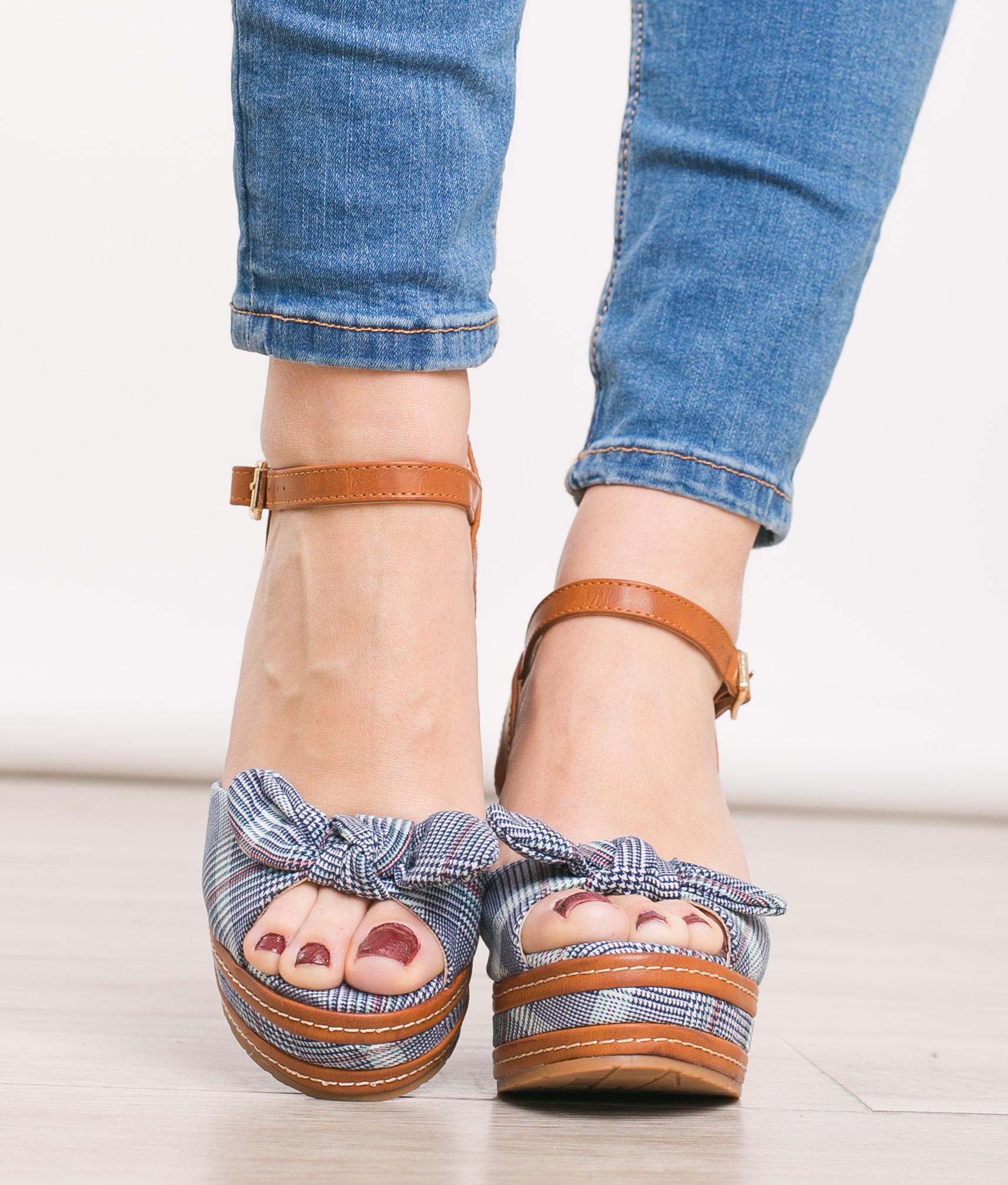 Wedge Heel Verona - Camel
