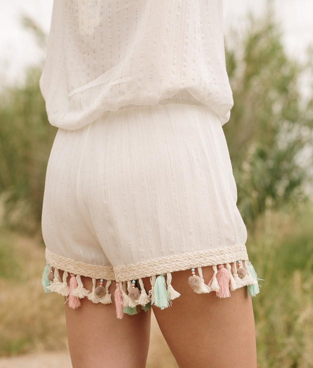 Short Idole - Blanco