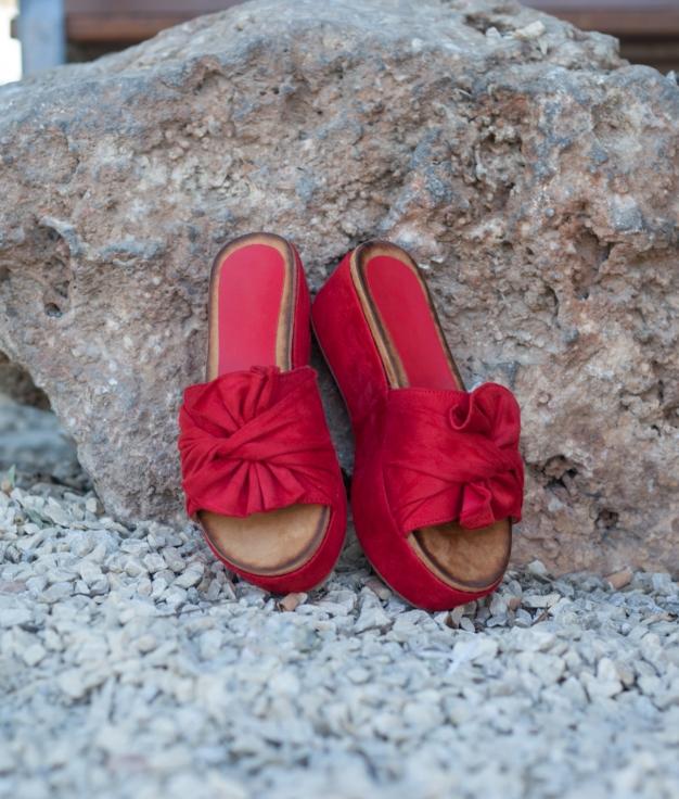 Sandalo Akiles - Rosso