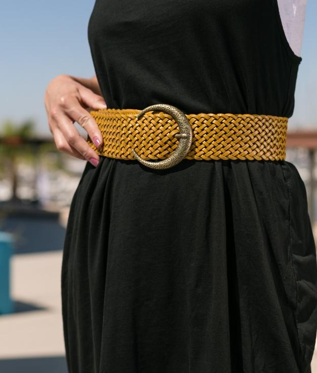 Cinturón Lebuc - Mostaza