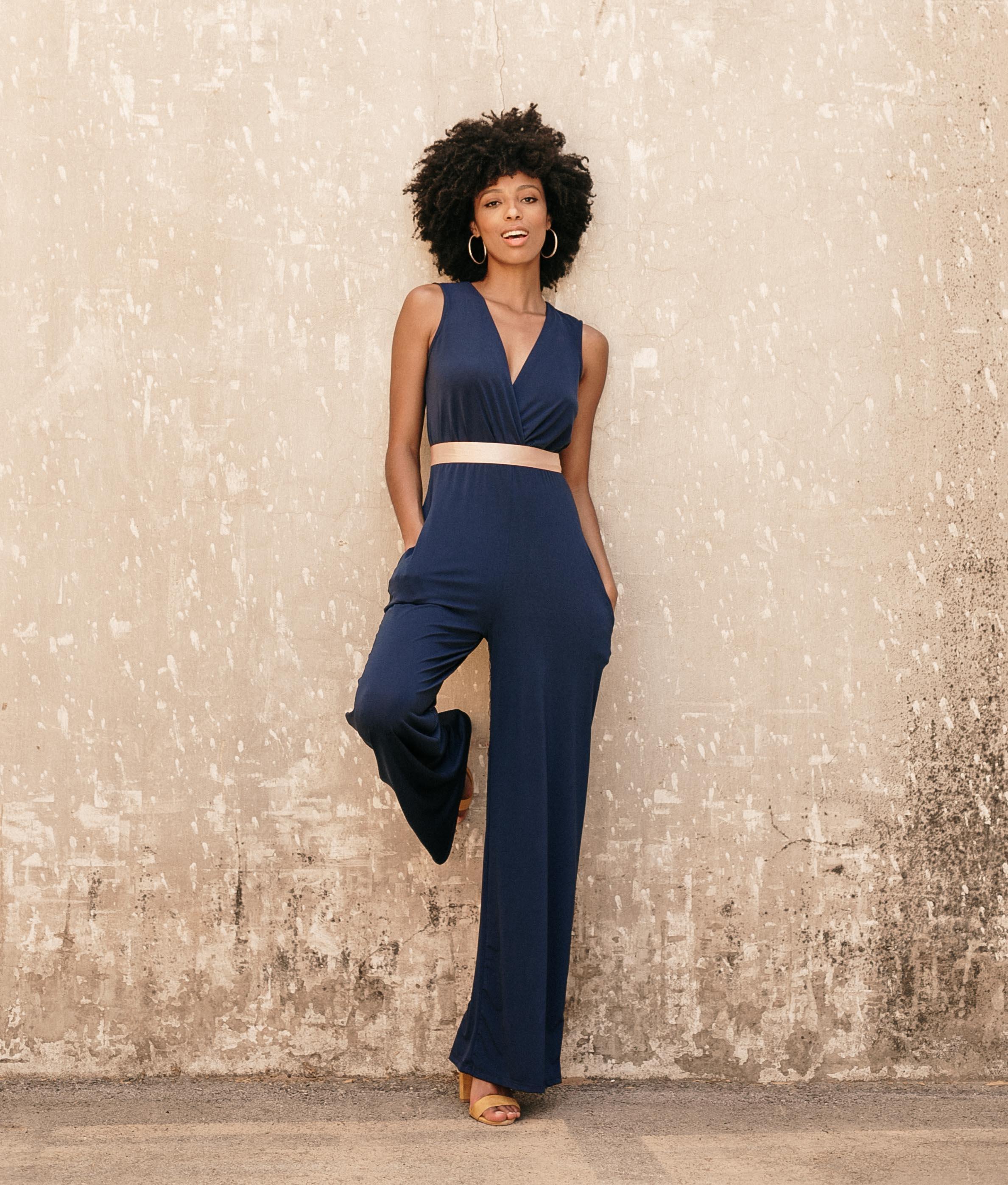Jumpsuit Cora - Klein Blue