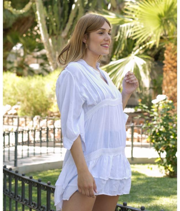 Vestido Dinat - Branco