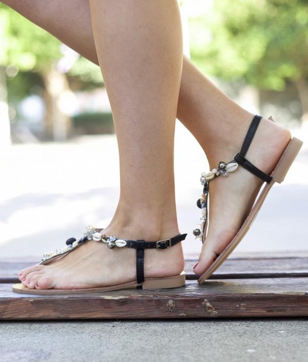 Sandalo Marela - Nero