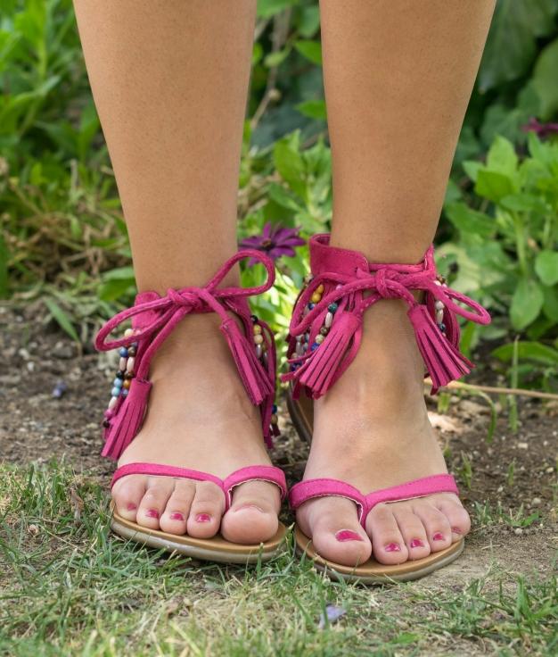Sandal Waiki - Fuchsia