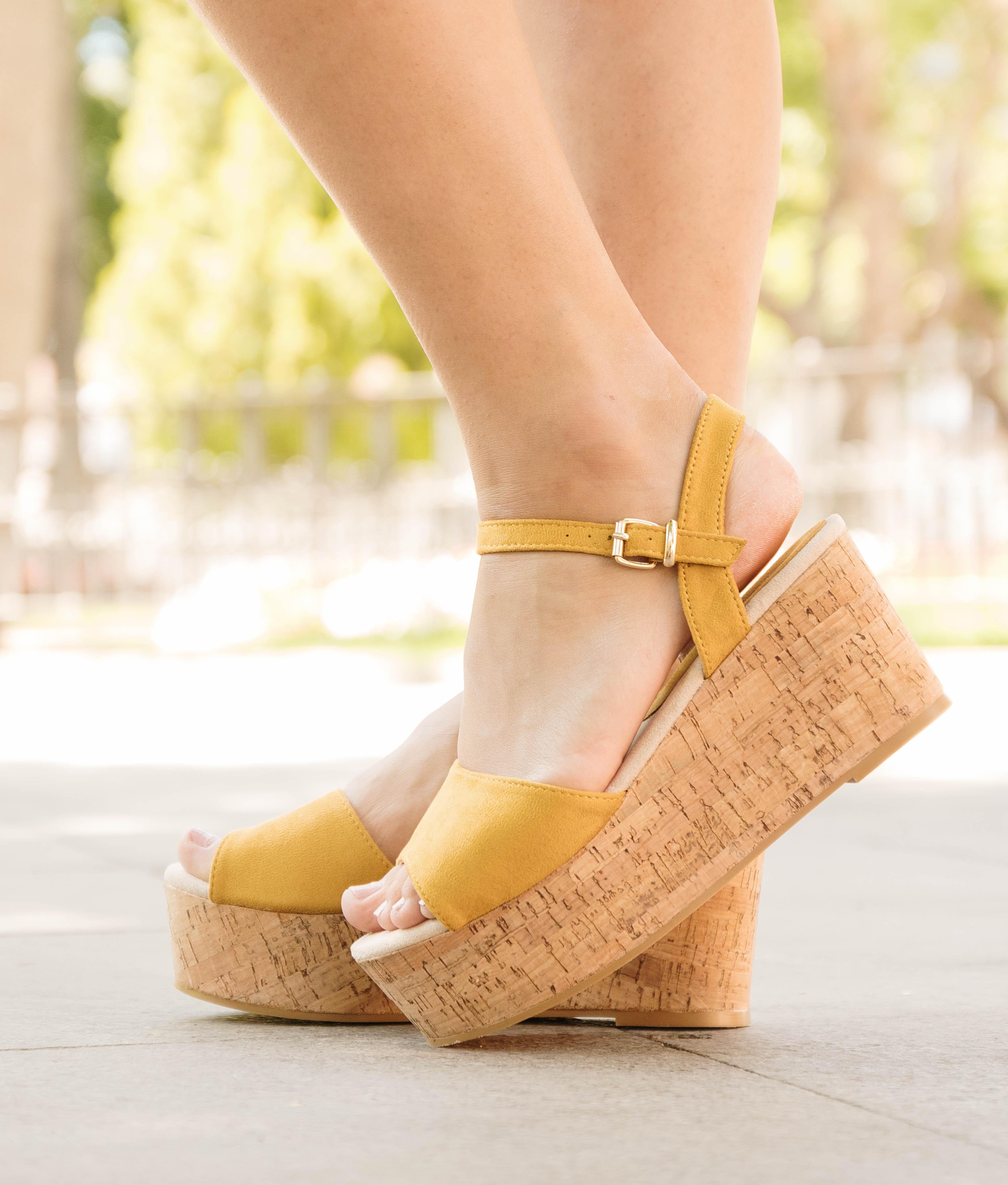 Wedge heel Igoiz - Taupe
