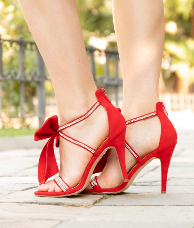 High Sandal Rebe - Red