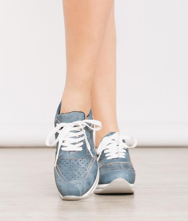 Sneakers Trenda - Bleu