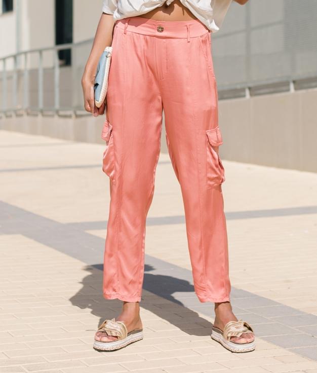 Trousers Xavi - Coral