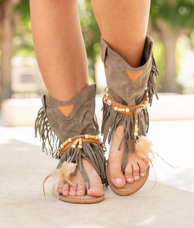 Sandale Mahoya - Vert