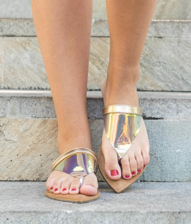 Sandal Bibura - Gold