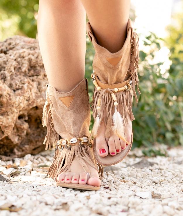 Sandale Mahoya - Kaki
