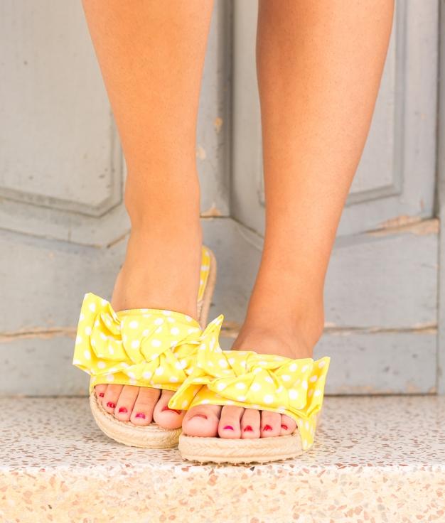 Sandalia Perios - Yellow