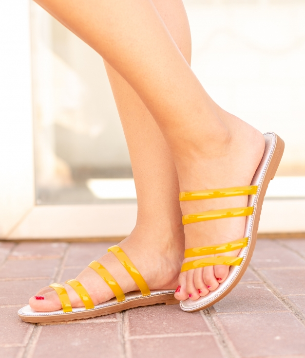 Sandalia Nek - Amarelo