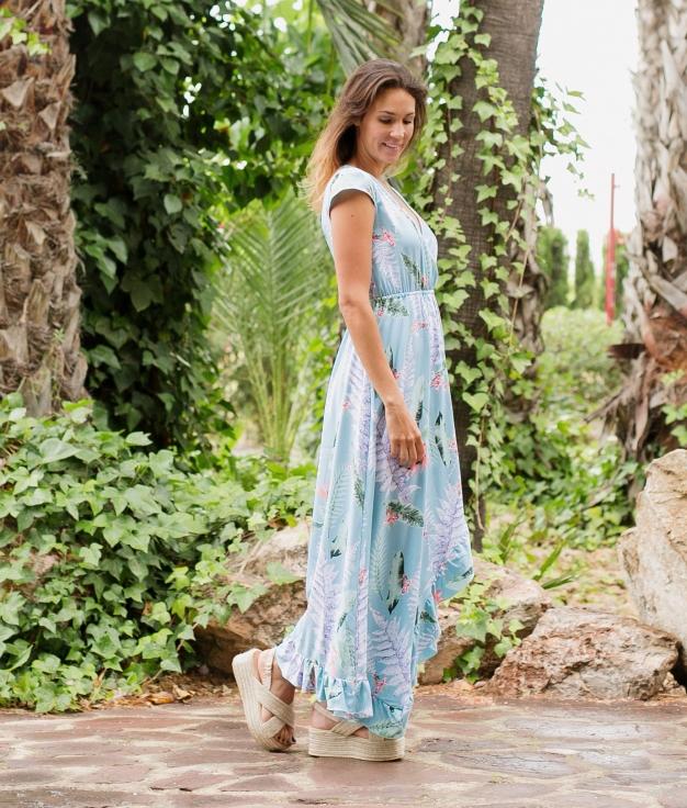 Vestido Coases - Bleu