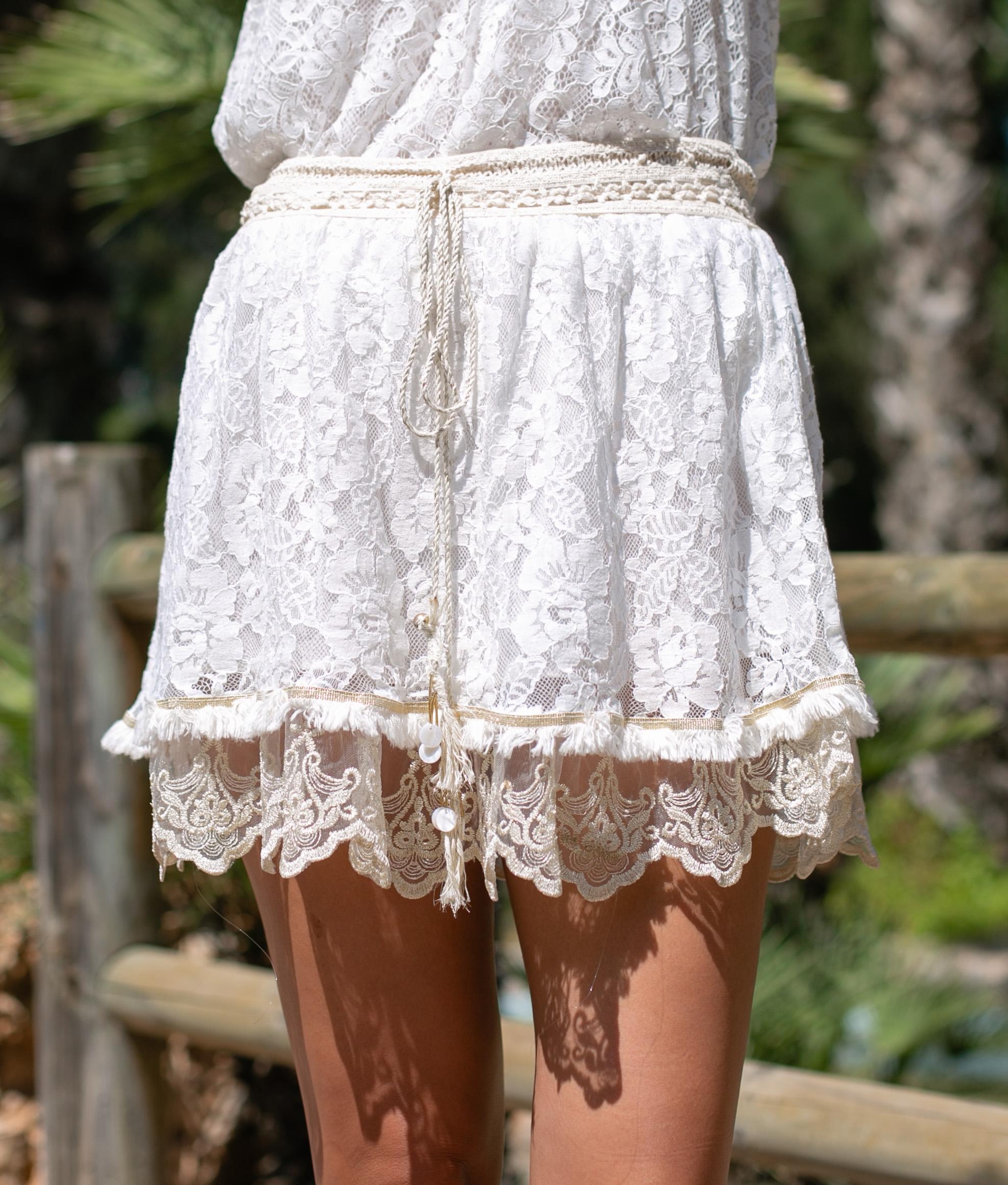 Skirt Lidic - Beige