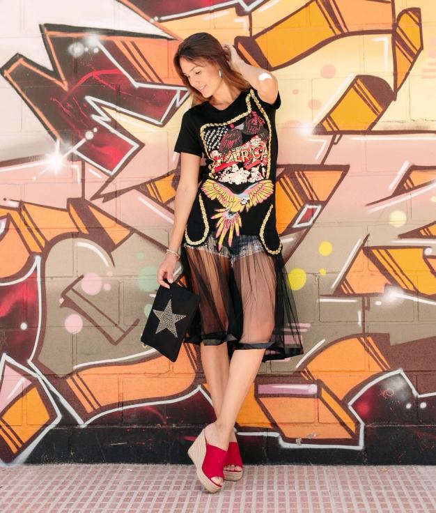 Vestido Turos - Preto
