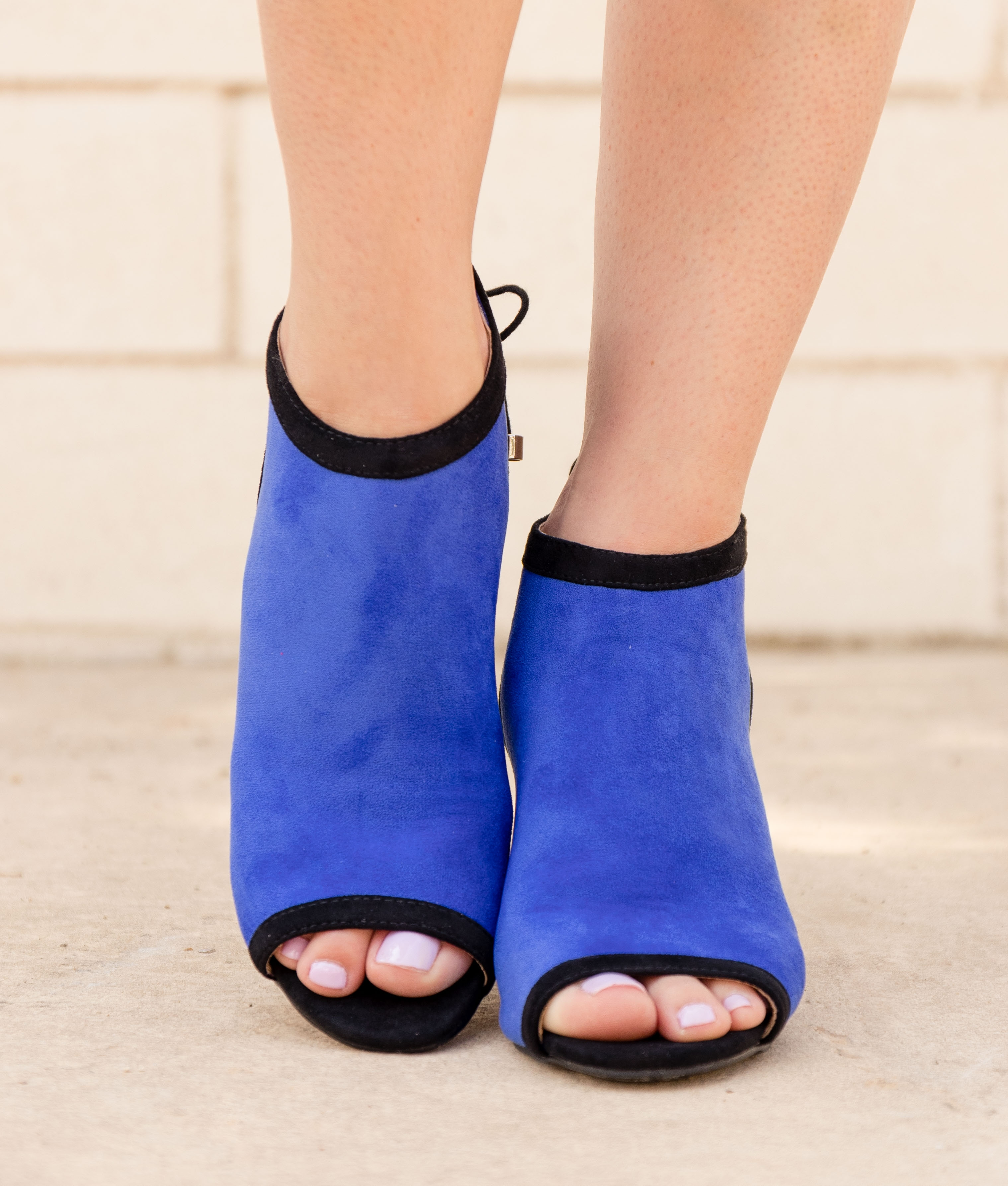 High Sandal Yeri - Blue