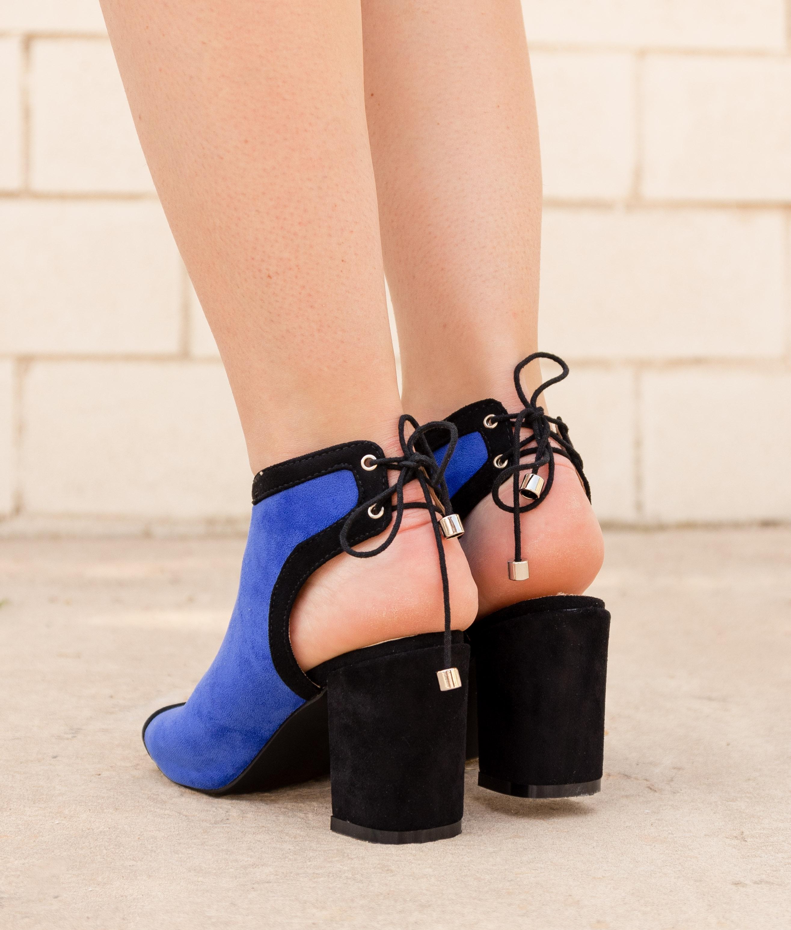 Sandalo Alta Yeri - Blu