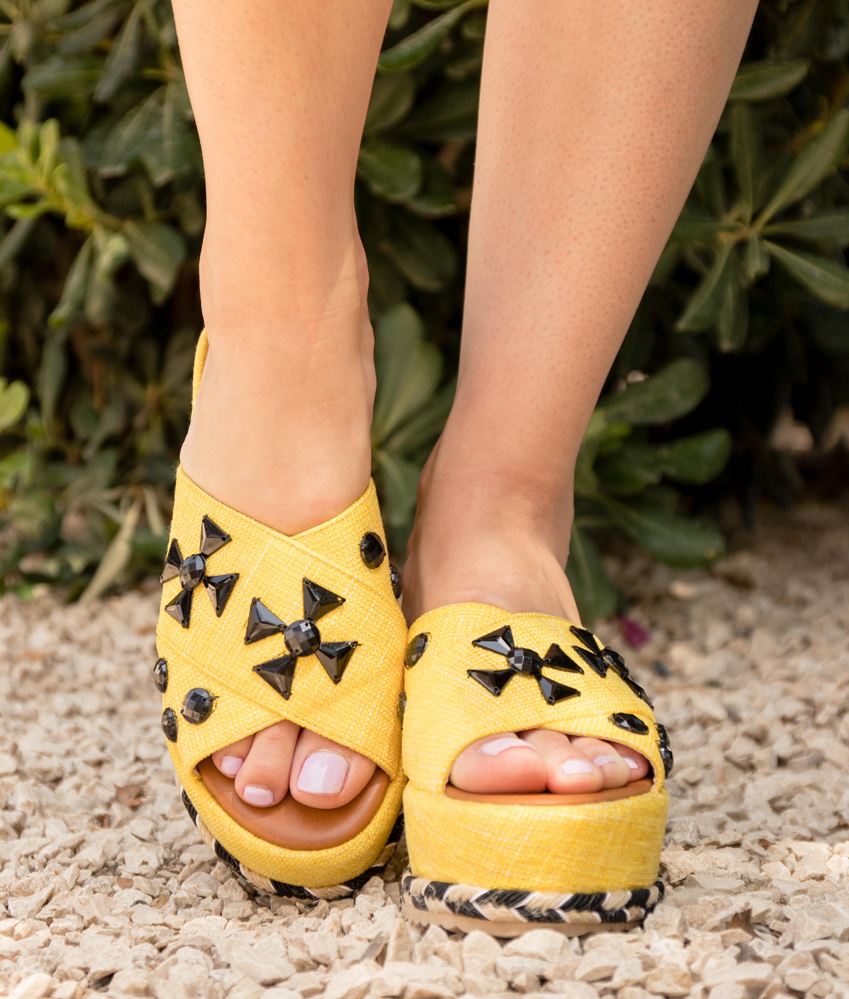 Sandália Conle - Amarelo