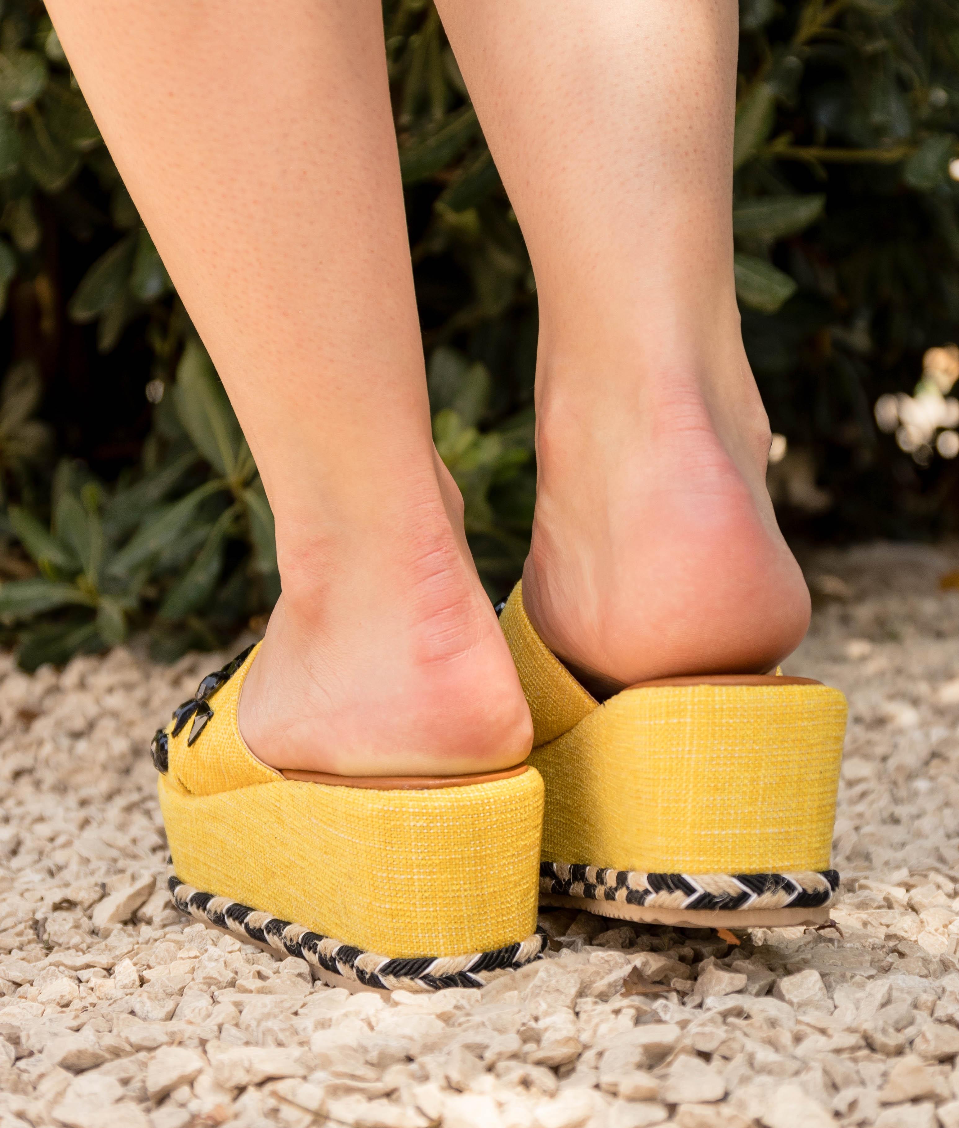 Sandale Conle - Jaune