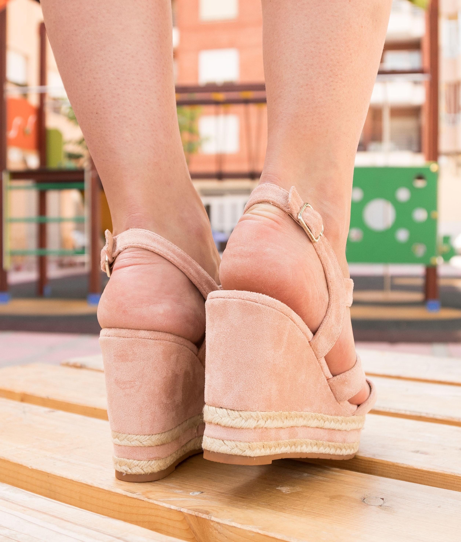Wedge Heel Concan - Black