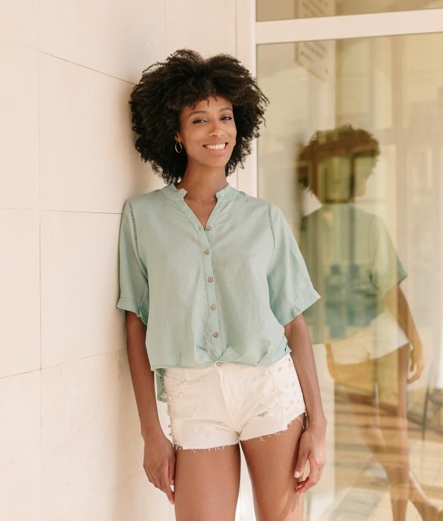 Shirt Delmar - Blue
