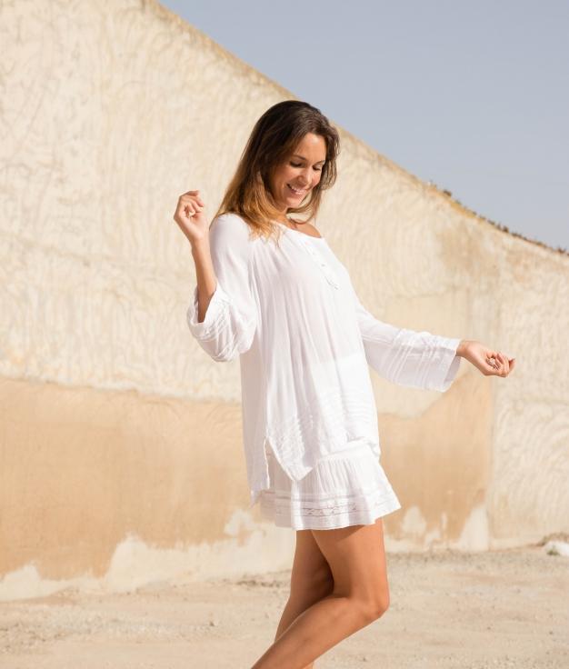 Shirt Five - White