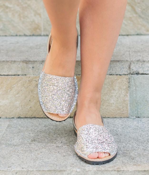 Menorquina Abad - Argent Glitter