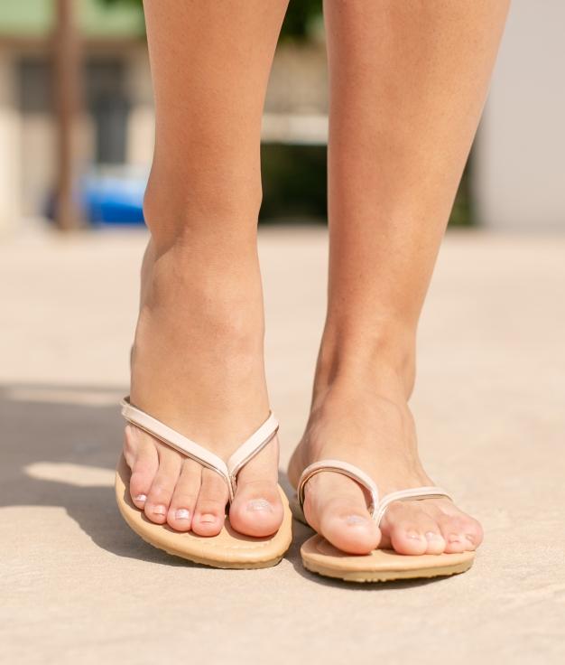 Sandal Lampan - Nude