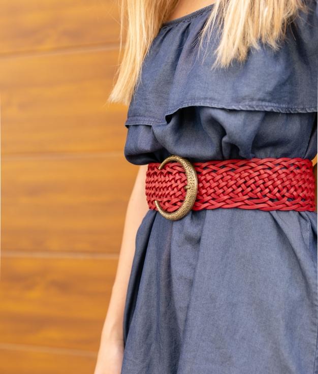 Cinturón Lebuc - Rojo