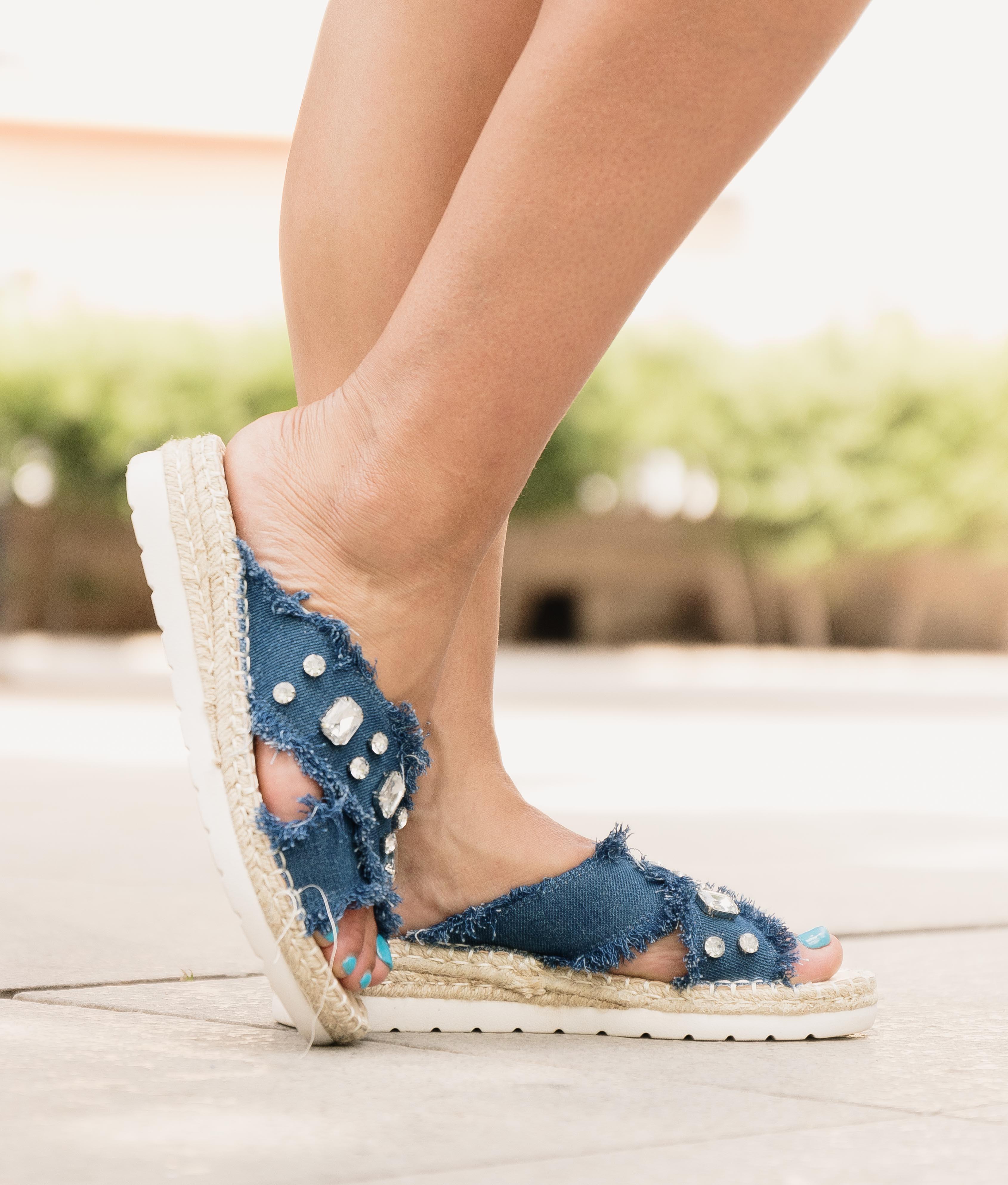 Sandale Sublet - Denim