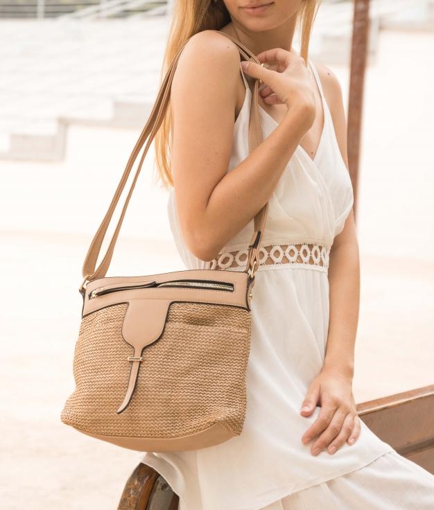 Bag Tistel- Camel