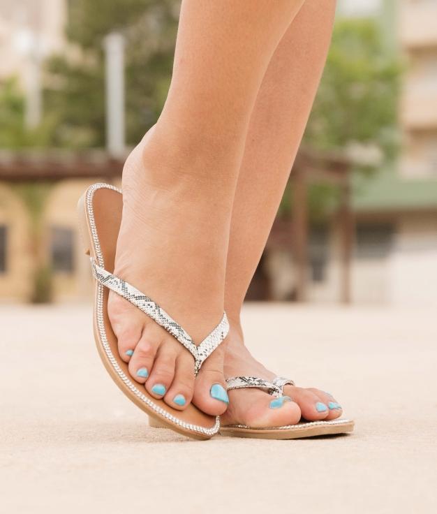 Sandalo Neus - Bianco