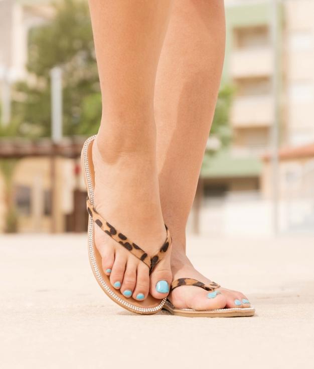Sandal Neus - Leopard
