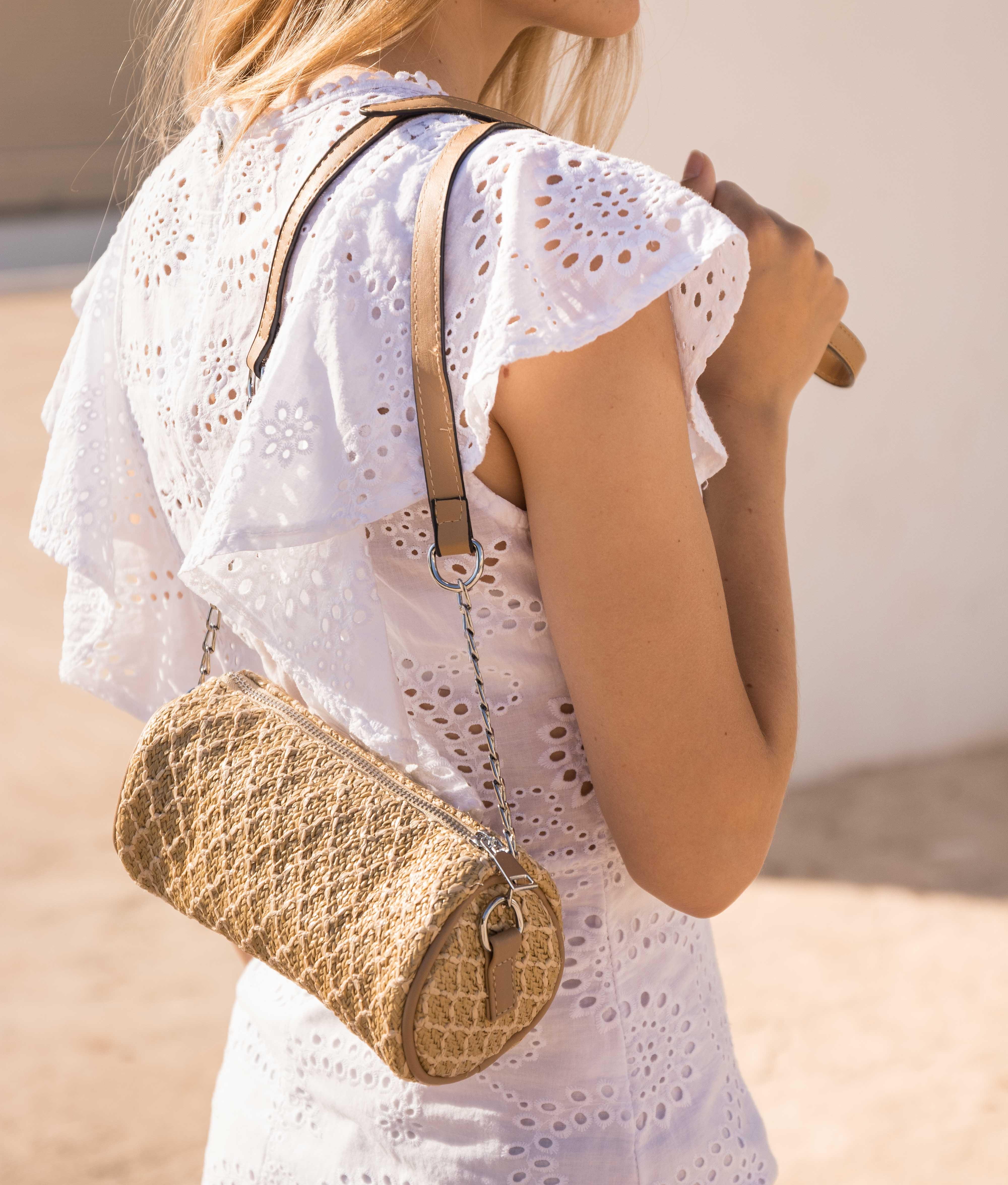 Bag Cilinder - Beige