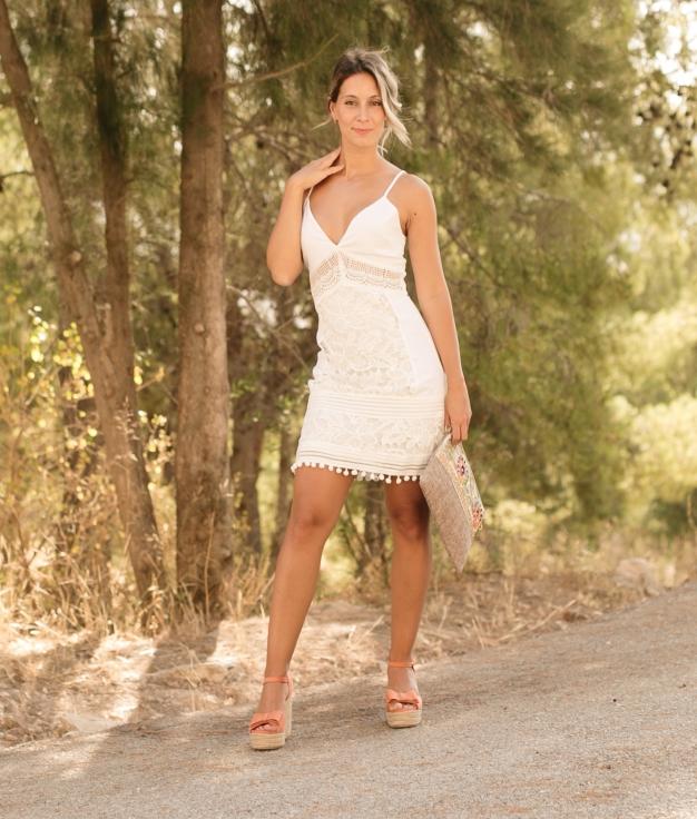 Dress Venza - White