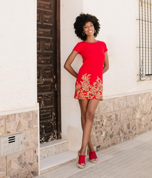 Dress Malca - Red
