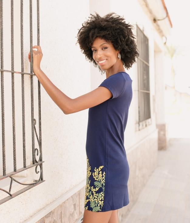 Vestido Malca - Azul