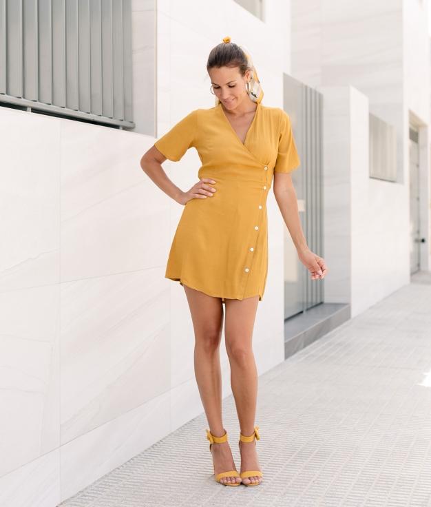 Dress Xalo - Mustard