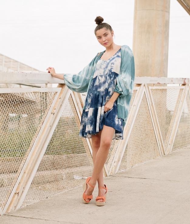 Vestido Alectu - Azul
