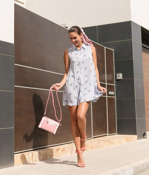 Dress Espare - Blue