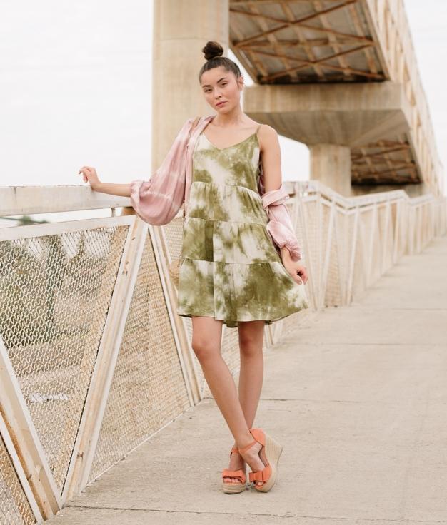 Vestido Alectu - Verde