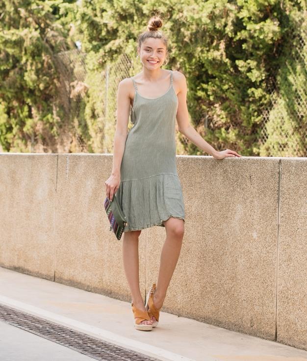 Dress Propis - Green
