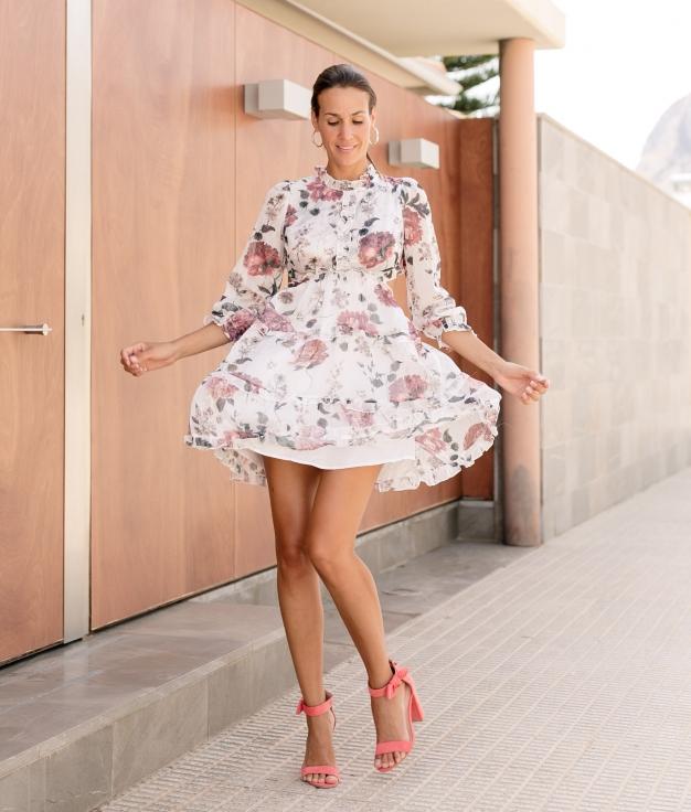 Vestido Liyana - Blanco