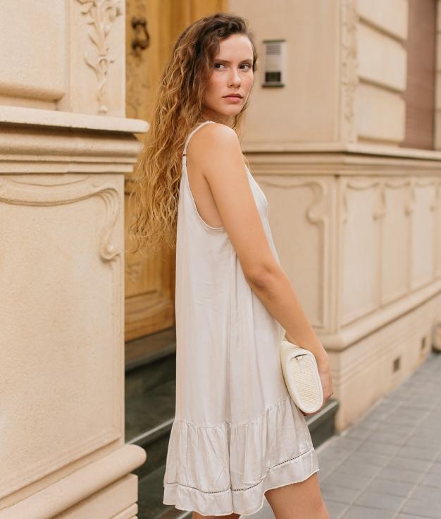 Vestido Anure - Beige