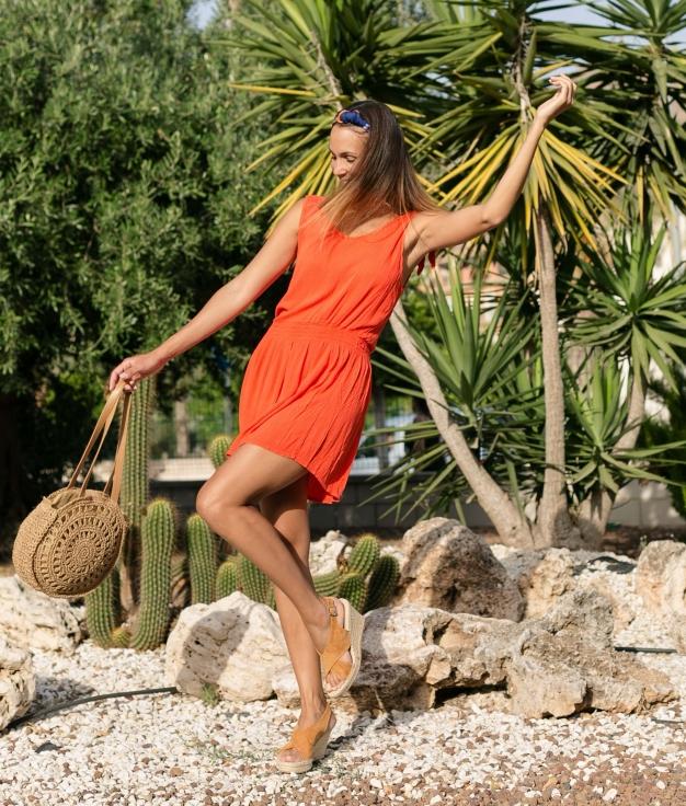 Dress Lebri - Orange