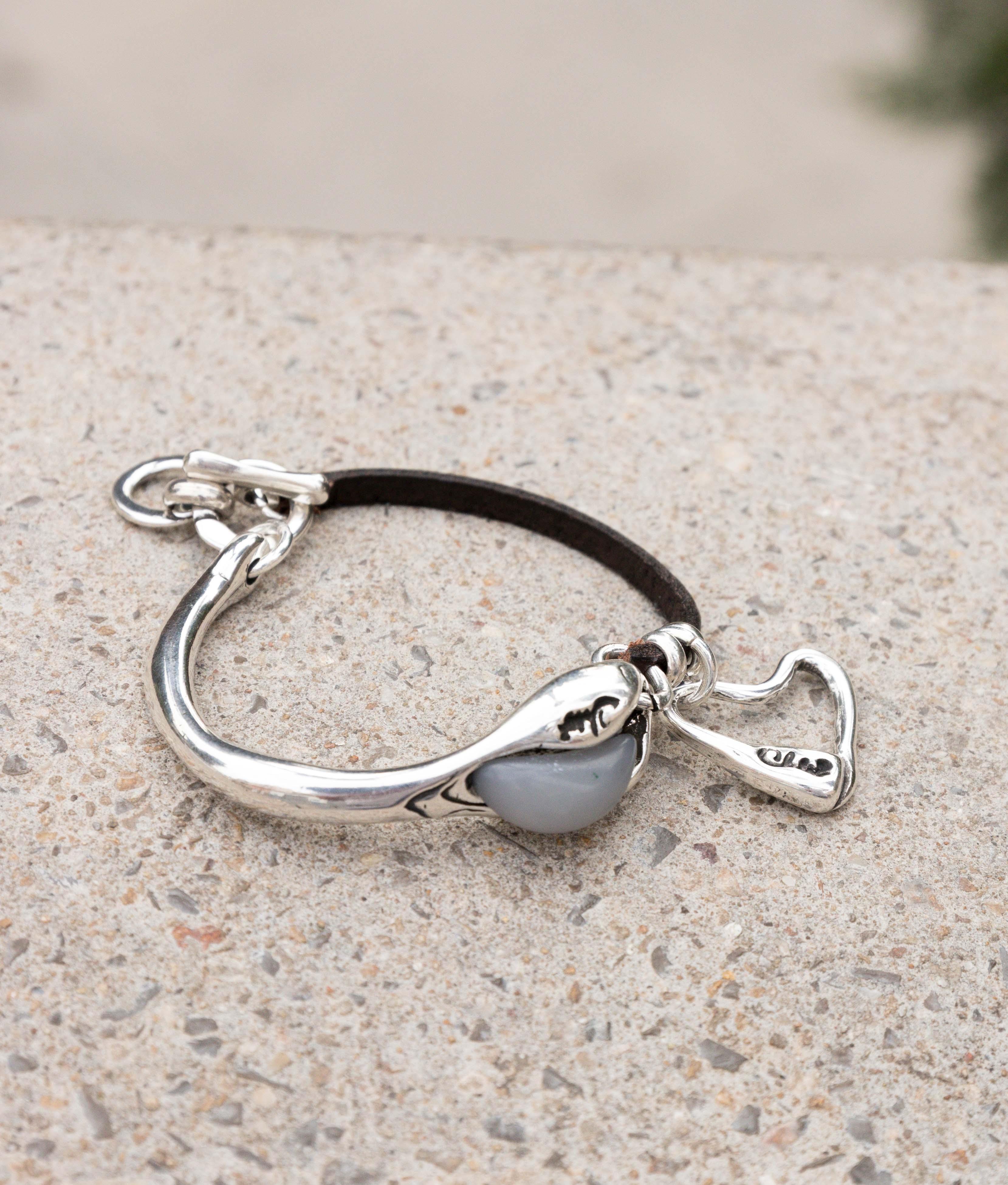 Bracelet Caladium - Argent