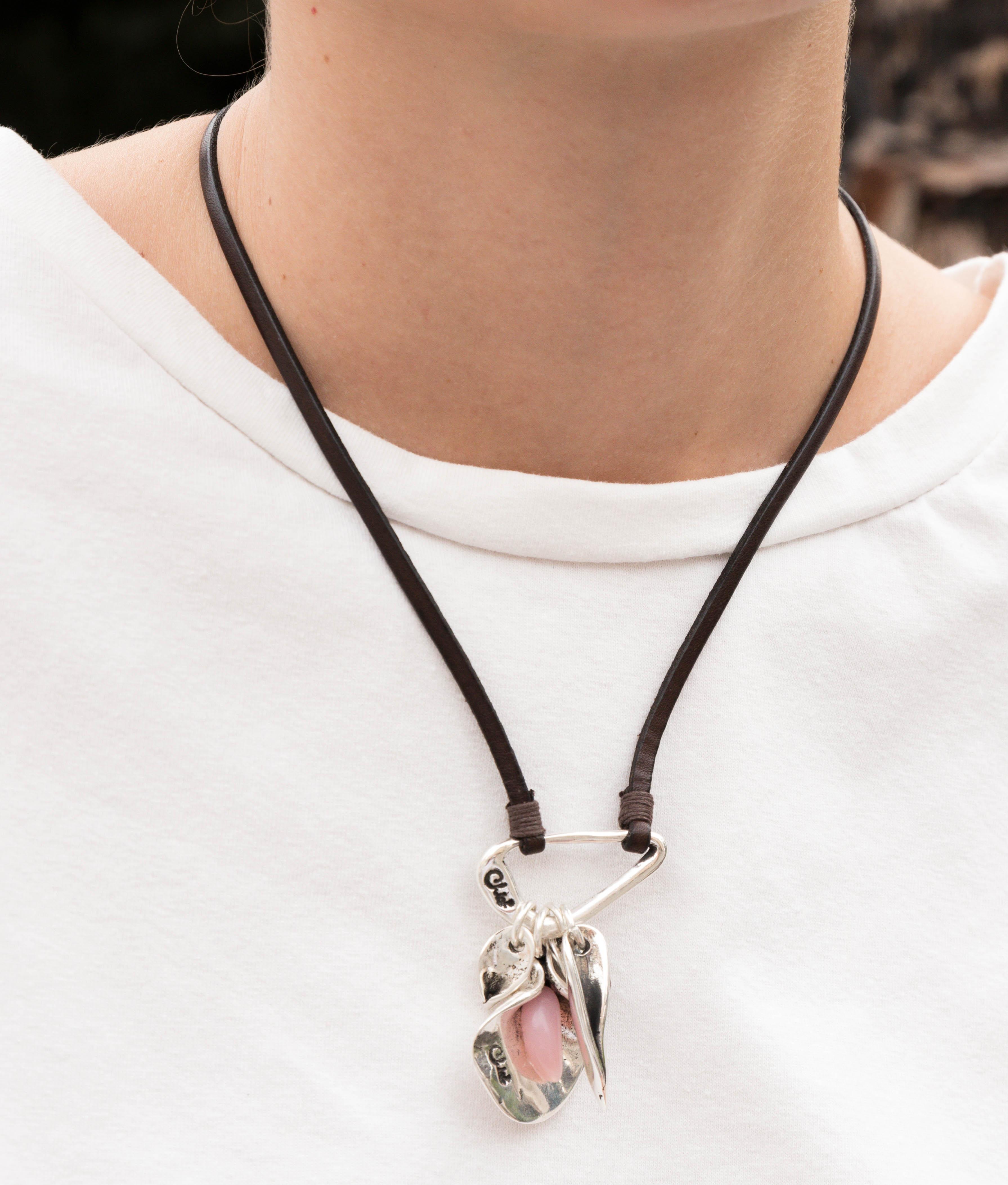 Collana Primavera - Rosa