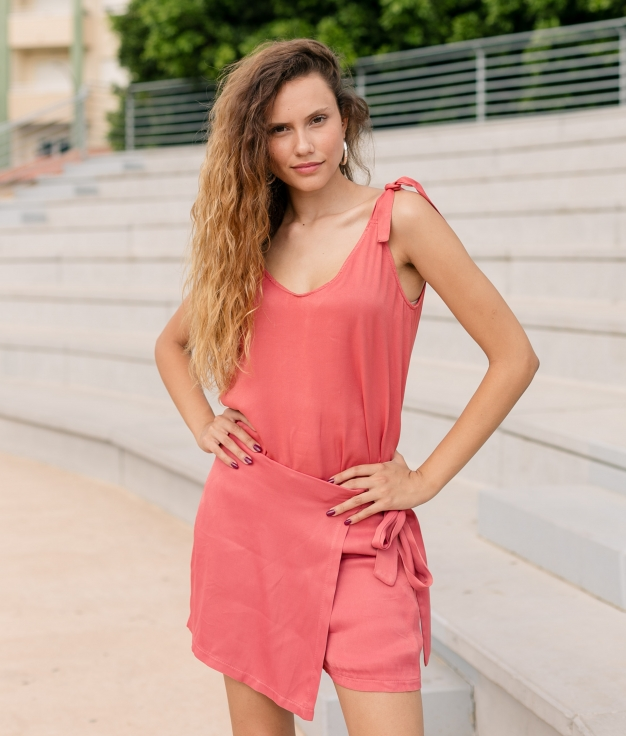 Blouse Namare - Coral