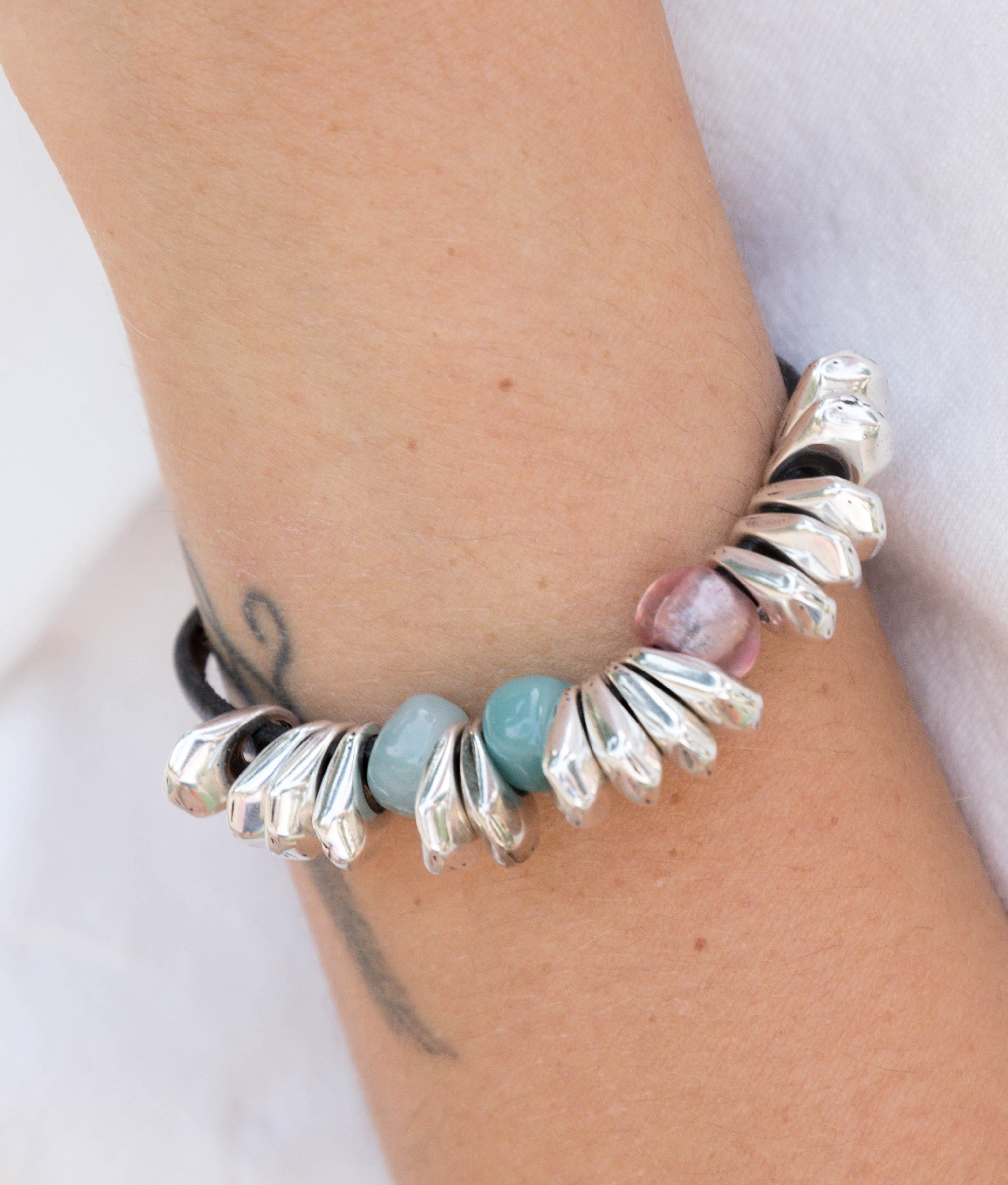 Bracelet Chiribitas - Aigue-marine